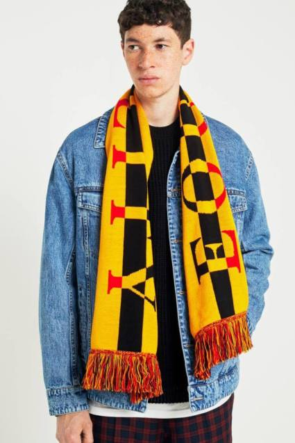 Block Coloured Scarf